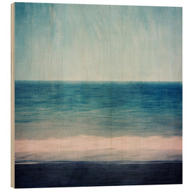 Legno  Abstract seascape in blues and purples - Sybille Sterk