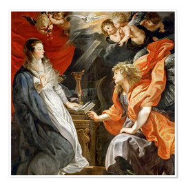 Poster Premium Annunciation to Mary