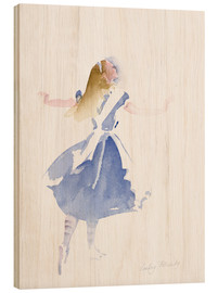 Legno  Alice in Profile - Lesley Fotherby