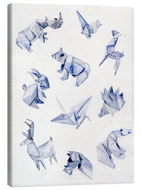 Tela  Origami animals - Jennifer McLennan