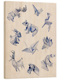 Legno  Origami animals - Jennifer McLennan