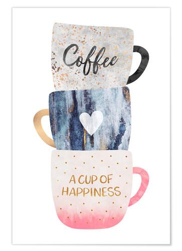 Poster A cup of happiness