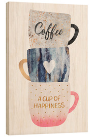 Legno  A cup of happiness - Elisabeth Fredriksson