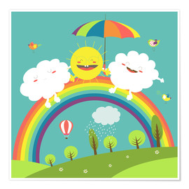 Poster Premium  Friendly weather - Kidz Collection