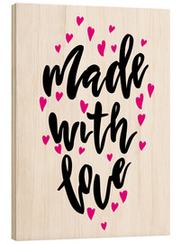 Legno  Made with love - Typobox