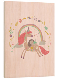 Legno  Girl from fairytale - Kidz Collection