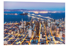Forex  San Francisco and Bay bridge at night - Matteo Colombo