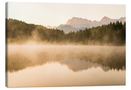 Stampa su tela  Summer morning at Geroldsee - Martin Wasilewski