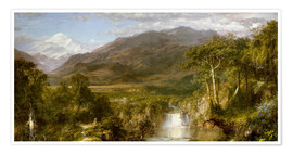 Poster Premium  Heart of the Andes - Frederic Edwin Church