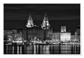 Poster Premium  Liverpool Water Front - Wayne Molyneux