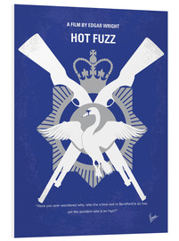 Forex  No847 My Hot Fuzz minimal movie poster - chungkong
