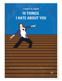 Poster Premium 10 Things I Hate About You (10 cose che odio di te)
