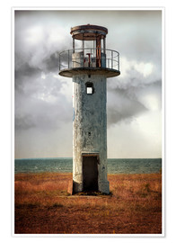 Poster Premium On old light house in Estonia