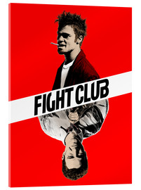 Vetro acrilico  Fight club two face - Paola Morpheus