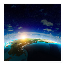 Poster Premium  The Earth from space, NASA