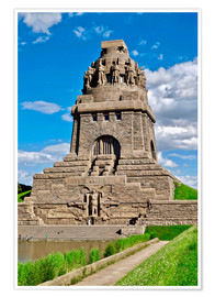 Poster Premium The Monument to the Battle of the Nations