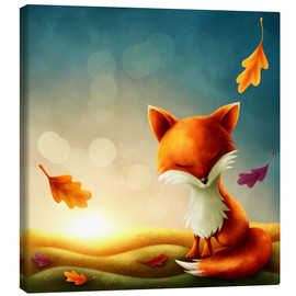 Tela  Little red fox - Elena Schweitzer