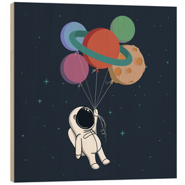 Stampa su legno  Space journey - Kidz Collection