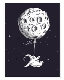 Poster Premium  Dream of flying - Kidz Collection