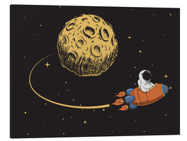 Stampa su alluminio  To the moon and back - Kidz Collection