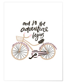Poster Premium  Adventure Bike - Kidz Collection