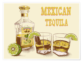 Poster Premium  Tequila Drink