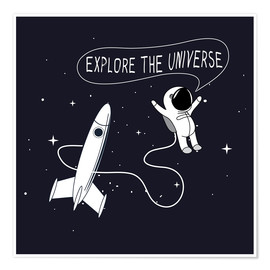 Poster Premium  Space explorers - Kidz Collection