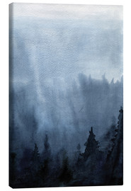 Tela  Mist over the forest
