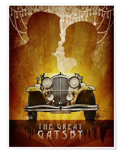 Poster Premium The Great Gatsby