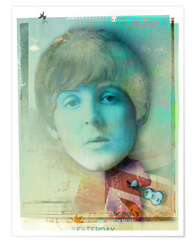 Poster Premium  paul mccartney - Daniel Matzenbacher