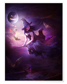 Poster Premium  Training for Halloween - Elena Dudina