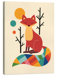 Tela  Rainbow Fox - Andy Westface