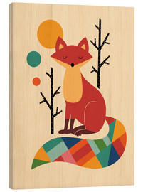 Legno  Rainbow Fox - Andy Westface