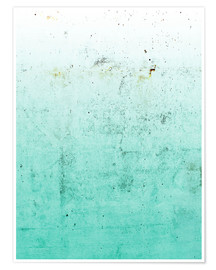 Poster  Sea on concrete - Emanuela Carratoni