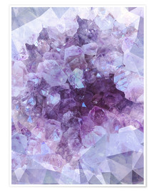 Poster Premium  Light crystal - Emanuela Carratoni