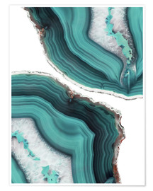 Poster  Sea agate - Emanuela Carratoni