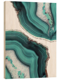 Legno  Sea agate - Emanuela Carratoni