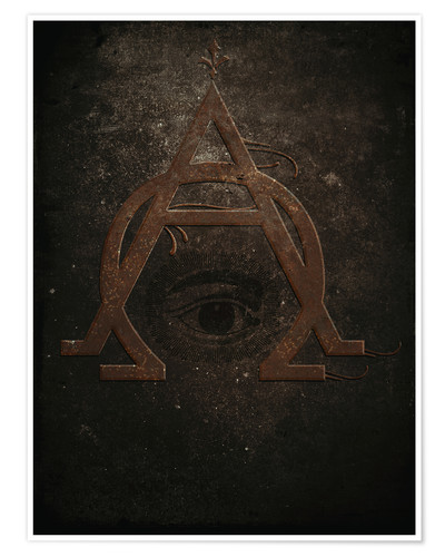Poster Premium alpha and omega