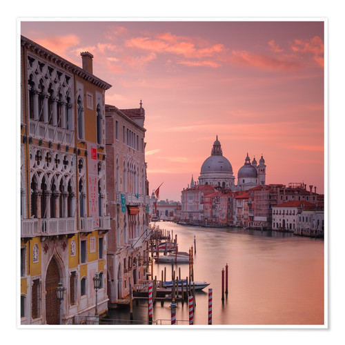 Poster Premium Venice and the grand Canal at sunrise