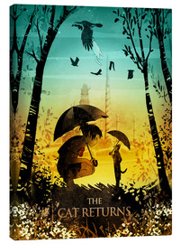 Albert Cagnef - The Cat Returns Poster Lounge
