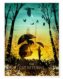 Poster Premium  The Cat Returns - Albert Cagnef