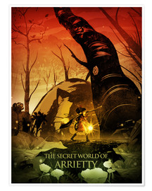 Poster  Arrietty Color  Poster Lounge - Albert Cagnef