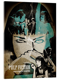 Vetro acrilico  PulpFiction Poster Lounge - Albert Cagnef