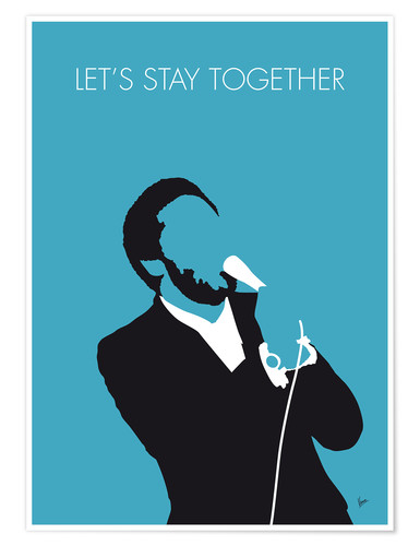 Poster Premium Al Green - Let's Stay Together