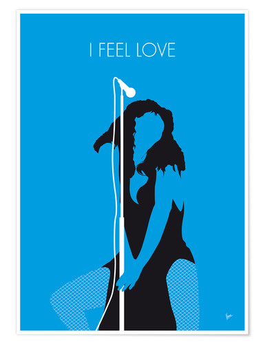 Poster Premium Donna Summer - I Feel Love