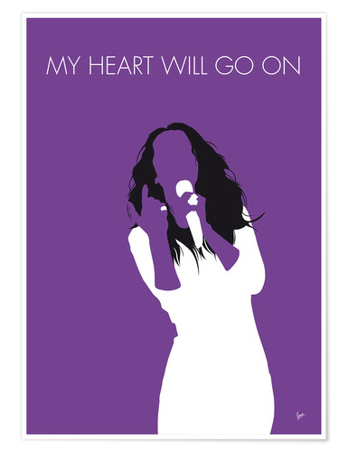 Poster Premium Celine Dion - My Heart Will Go On