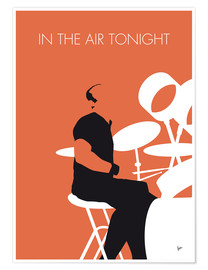 Poster Premium Phil Collins, In The Air Tonight