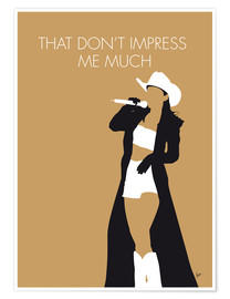 Poster Premium Shania Twain - That Don't Impress Me Much