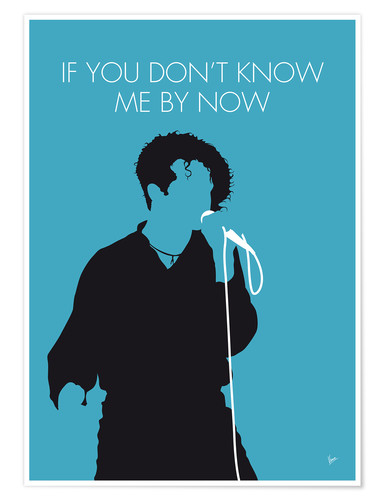 Poster Premium Simply Red - If You Don't Know Me By Now