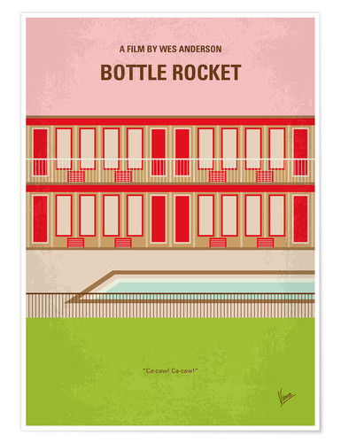 Poster Premium Bottle Rocket